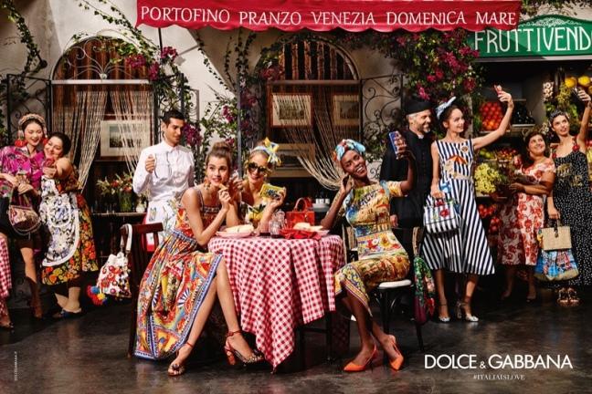 mgluxurynews Dolce&Gabbana 2016 Sping Summer campaign