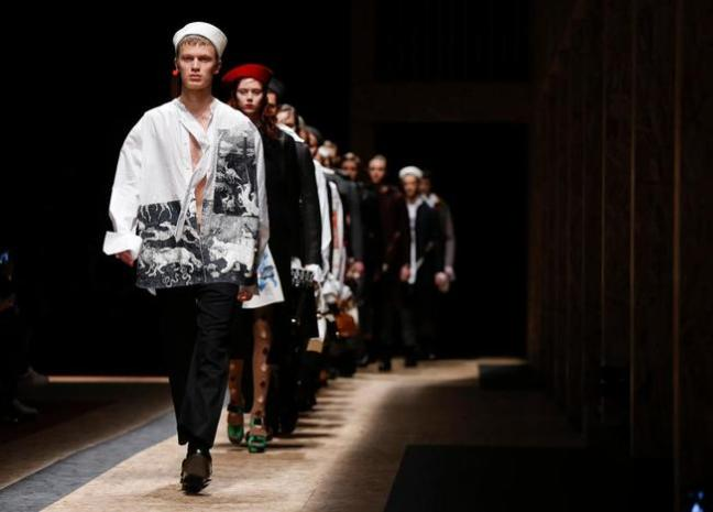 mgluxurynews full Prada menswear collection
