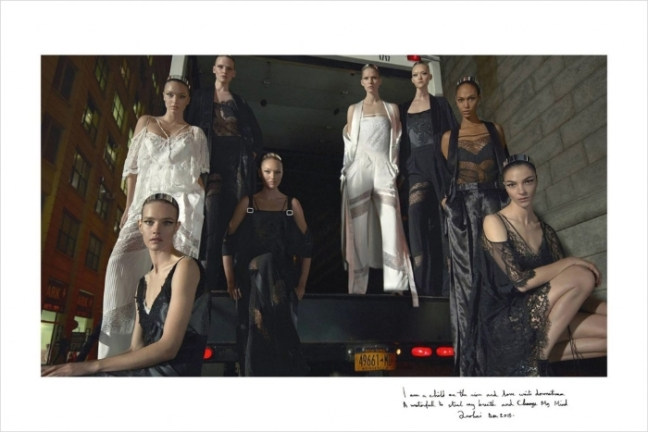 mgluxurynews Givenchy SS16 campaign