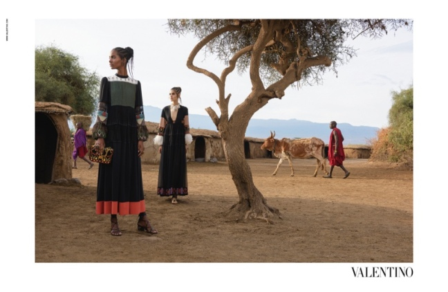 mgluxurynews valentino africa ss16 campaign