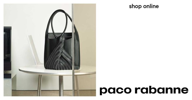 mgluxurynews paco rabanne handbags
